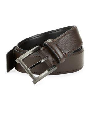 Pebbled Leather Belt...