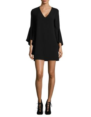 Bell Sleeves Shift Dress by Wayf
