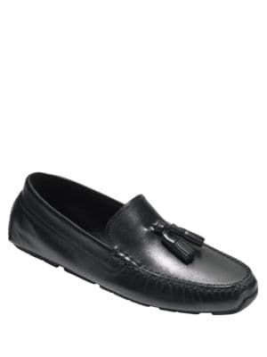 Rodeo Leather Tassel Drivers by Cole Haan