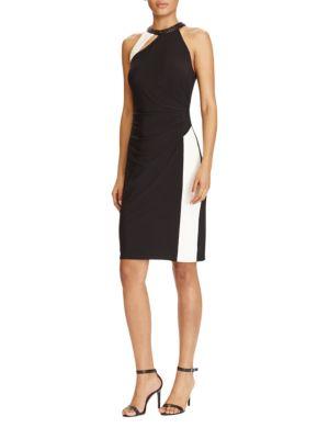 Asymmetrical Front Cutout Dress by Lauren Ralph Lauren
