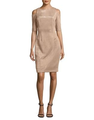 Cold-Shoulder Sheath Dress by Vince Camuto