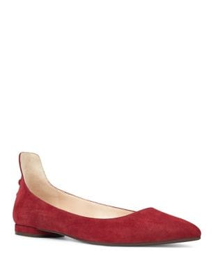 Owl Suede Flats by Nine West