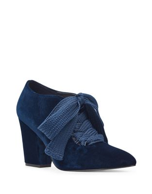 Sweeorn Lace Up Booties by Nine West