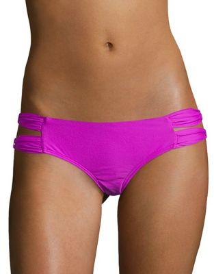 Side Cutout Bikini Swim Bottoms by 6 Shore Road