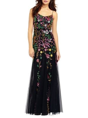 Cowlneck Jersey Gown by Adrianna Papell