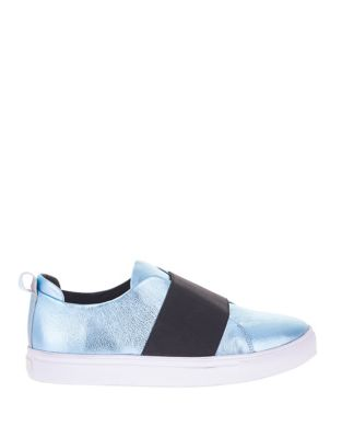 Micky Slip-On III Leather Sneakers by Sol Sana