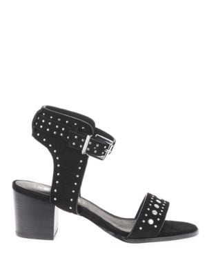 Porter Studded Suede Sandals by Sol Sana