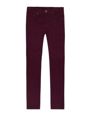 Slim Fit Sueded Jeans...