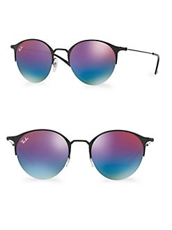 649bd70b70 Product image. QUICK VIEW. Ray-Ban. 51MM Gradient Mirrored Round Sunglasses