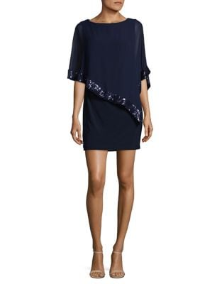 Asymmetrical Popover Dress by Xscape