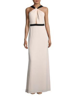 Halter Floor-Length Dress by Jill Jill Stuart