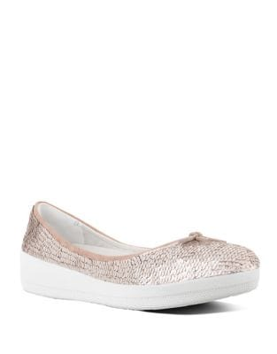 Superballerina Embellished Flats by FitFlop
