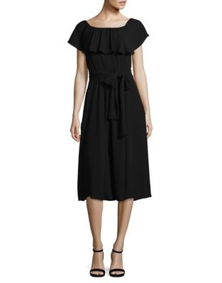 Belted Off-the-Shoulder Dress by Ivanka Trump