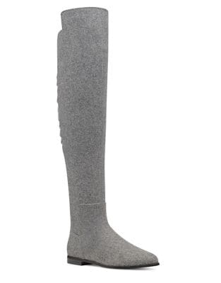 Eltynn Over-The-Knee Fabric Boots by Nine West