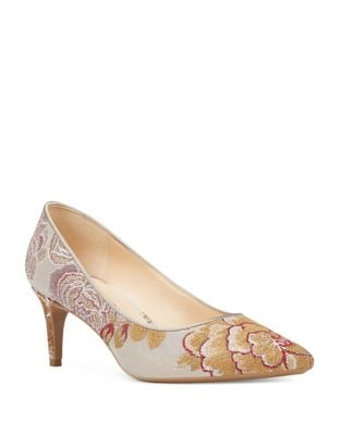 Soho Floral Brocade Pump by Nine West