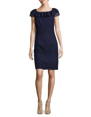Cotton Shift Dress by Karl Lagerfeld Paris