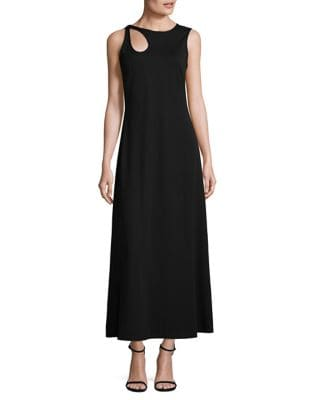Teardrop Accented Stretch Dress by Calvin Klein