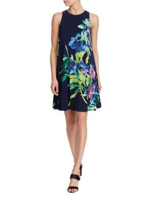 Sleeveless A-Line Dress by Lauren Ralph Lauren