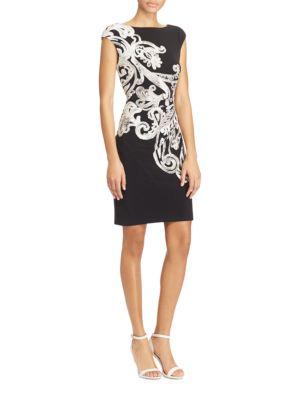 Paisley-Print Jersey Dress by Lauren Ralph Lauren