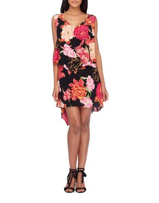 Plus Floral Sleeveless Dress by Tahari Arthur S. Levine