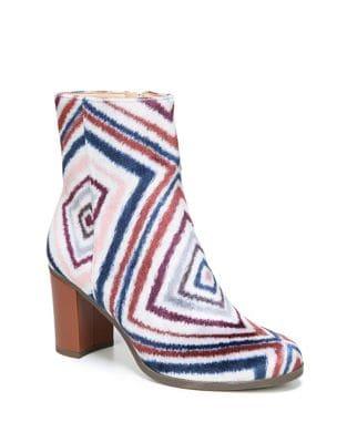 Darcia Almond Toe Velvet Booties by Dr. Scholl's