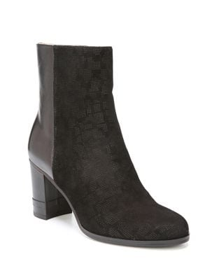 Darcia Leather Booties by Dr. Scholl's