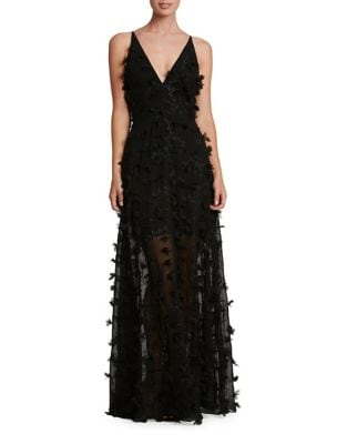 Fleur Chiffon Gown by Dress The Population