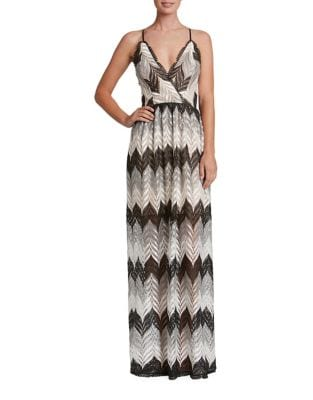 Lucia Crochet Gown by Dress The Population