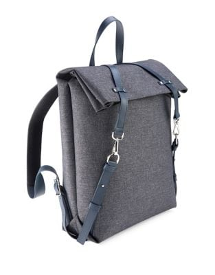 Laptop Leather Backpack...