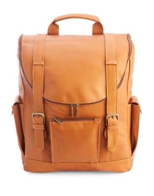 Colombian Leather Backpack...