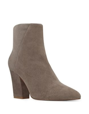 Savitra Isa Kid Suede Ankle Boots by Nine West