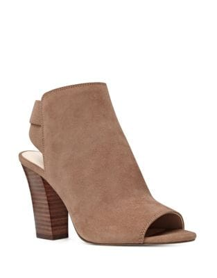 Zofee Suede Booties by Nine West