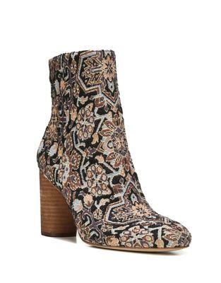 Corra Textile Block Heel Booties by Sam Edelman