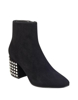 Blythe Suede Booties by KENDALL + KYLIE