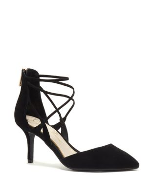 Piah Microsuede D'Orsay Pumps by Jessica Simpson