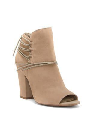 Remni Nubuck Leather Booties 500087207369