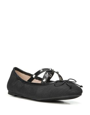 Cayenne Textile Stud Ballet Flats by Circus by Sam Edelman