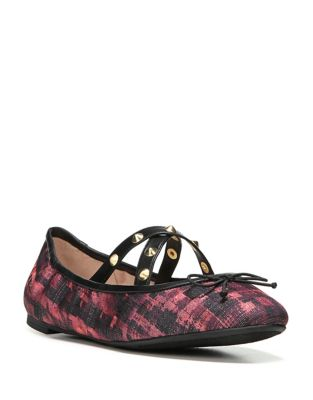 Cayenne Houndstooth Ballet Flats by Circus by Sam Edelman
