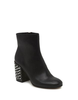 Olin Leather Booties by Dolce Vita