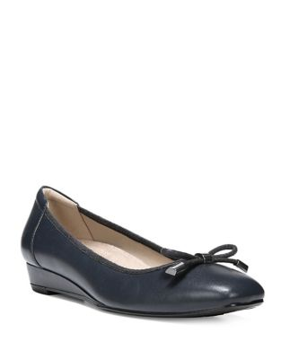Dove Leather Slip-On Pumps by Naturalizer