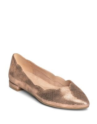Flower Girl Leather Ballet Flats by Aerosoles