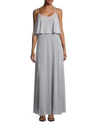 Metallic Popover Gown 500087217510