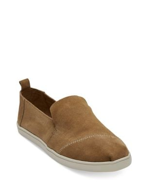 Deconstructed Alpargata Slip-On Sneakers by TOMS