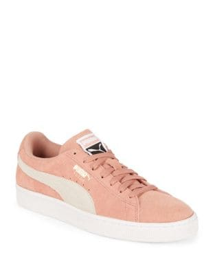 Suede Round Toe Sneakers by PUMA