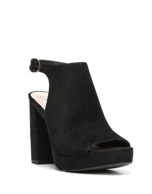 Carmyn Leather Platform Sandals by Fergie