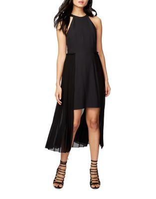 Pleated High-Low Dress by RACHEL Rachel Roy