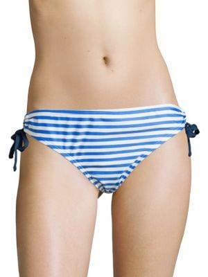 Stripe Drawstring Bikini Bottom by Next