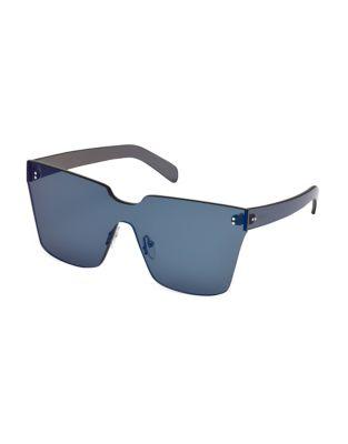 Image of 146MM Frameless Rectangular Sunglasses