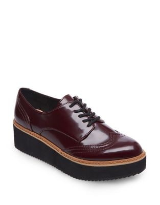 Lydia Rubber Platform Oxfords by Steve Madden