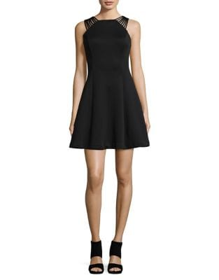 Strappy Fit-&-Flare Dress by Guess